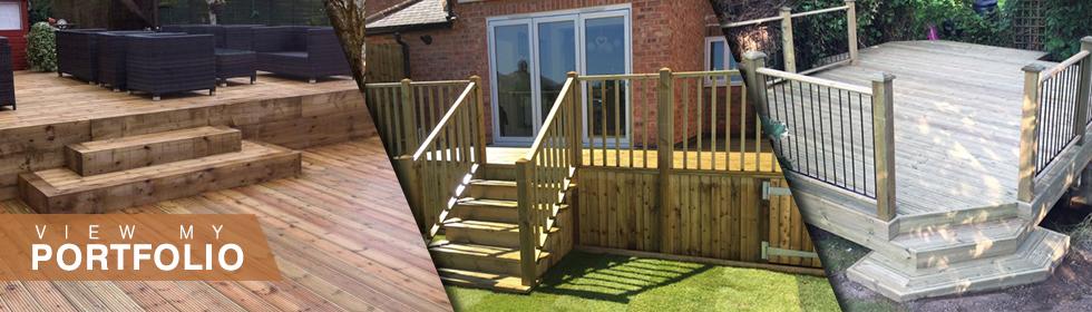 Garden Decking Services in Leicester