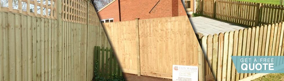 Garden Fencing Services in Leicester